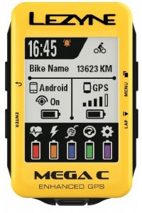 MEGA C GPS YELLOW