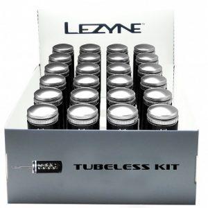 TUBELESS KIT BOX CLEAR (24ks)